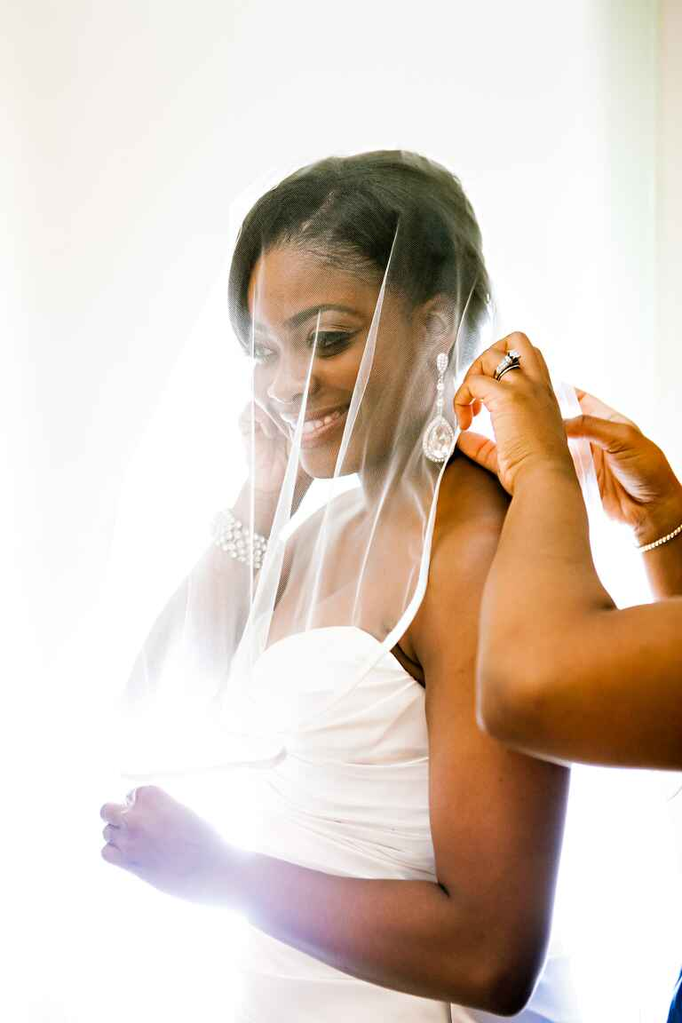 The right wedding veil for your face