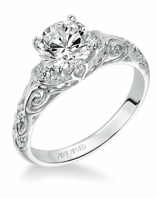 ArtCarved 31-V284ERW Engagement Ring photo
