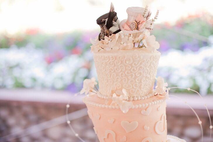 Whimsical Mad Hatter-Inspired Cake Topper