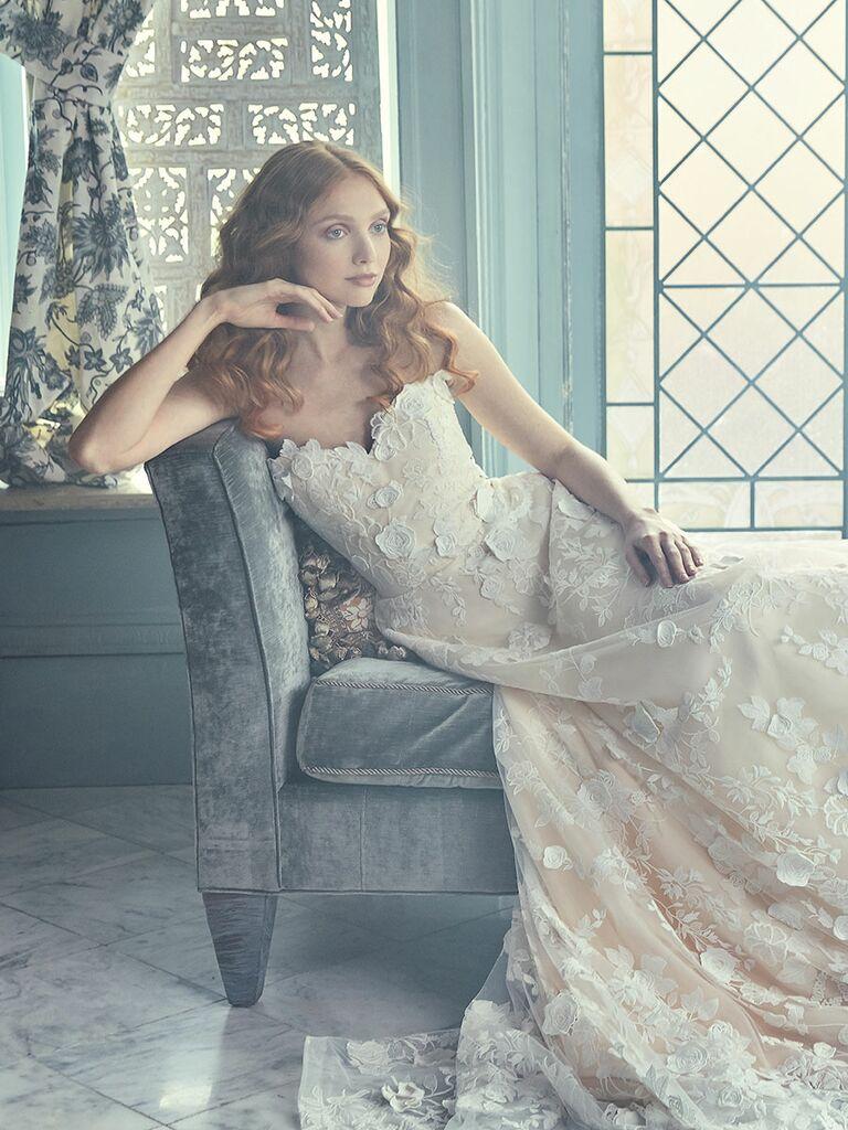 Sareh Nouri Spring 2018 Collection Bridal Fashion Week Photos