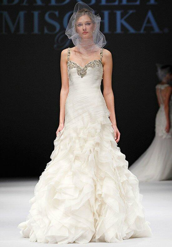 Badgley Mischka Bride Hepburn Wedding Dress photo