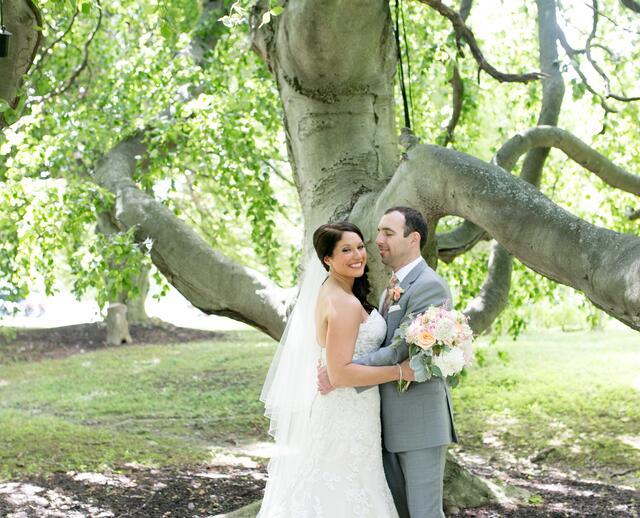 A Garden Inspired Wedding At Crossed Keys Inn In Andover New Jersey