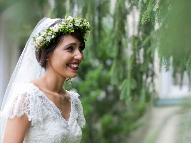 All natural bride