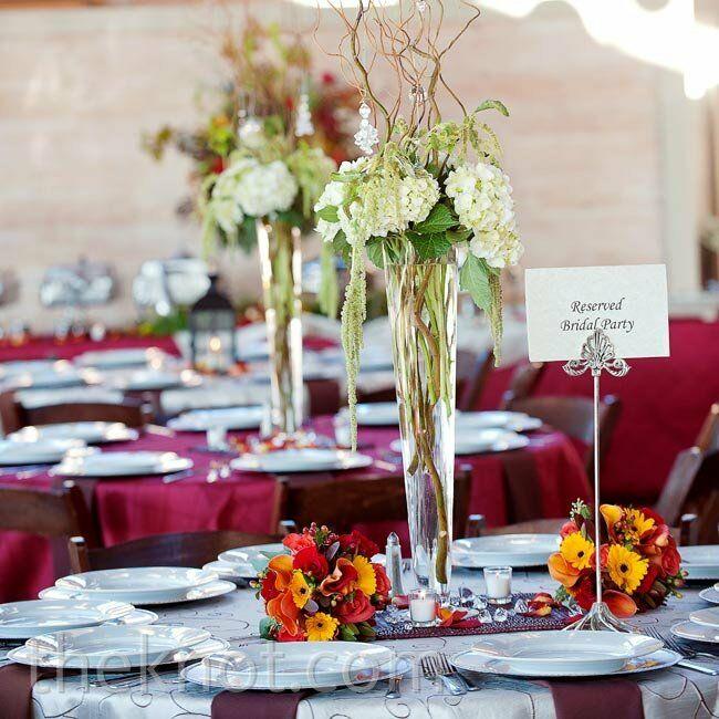 An outdoor autumn wedding in dahlonega ga