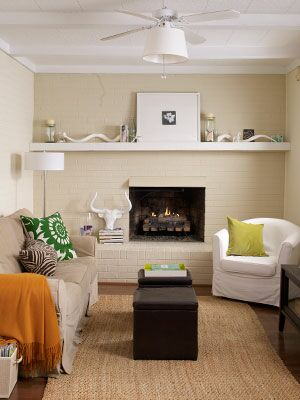 Paint With Light Hues & Make a Small Space Look Bigger