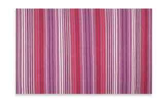 Surya Happy Cottage Berry Stripe Flatweave Rug / The Knot blog