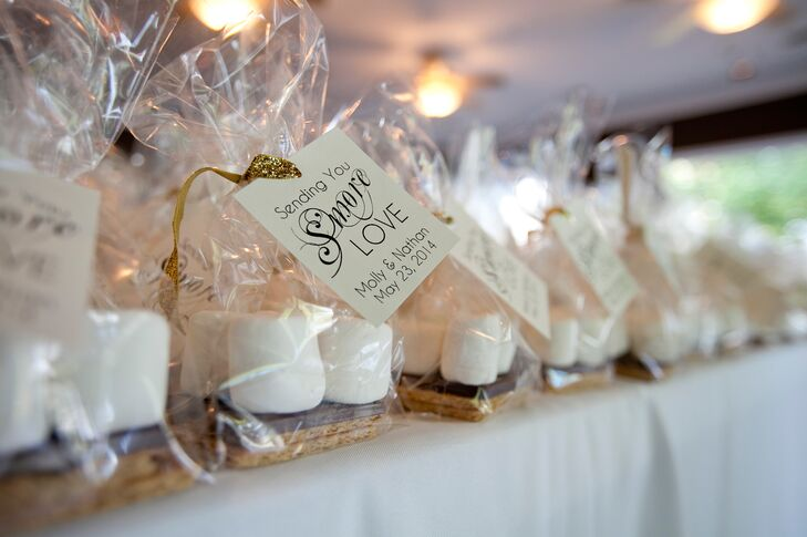 S\'mores Kit Wedding Favors