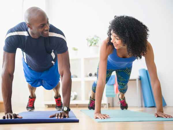 Work out with your partner to improve your relationship and your health!