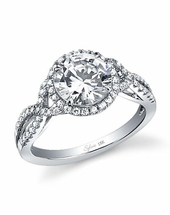 Sylvie Collection SY260 Engagement Ring photo