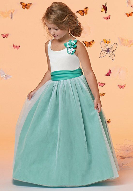 Sweet Beginnings L675 Flower Girl Dress photo