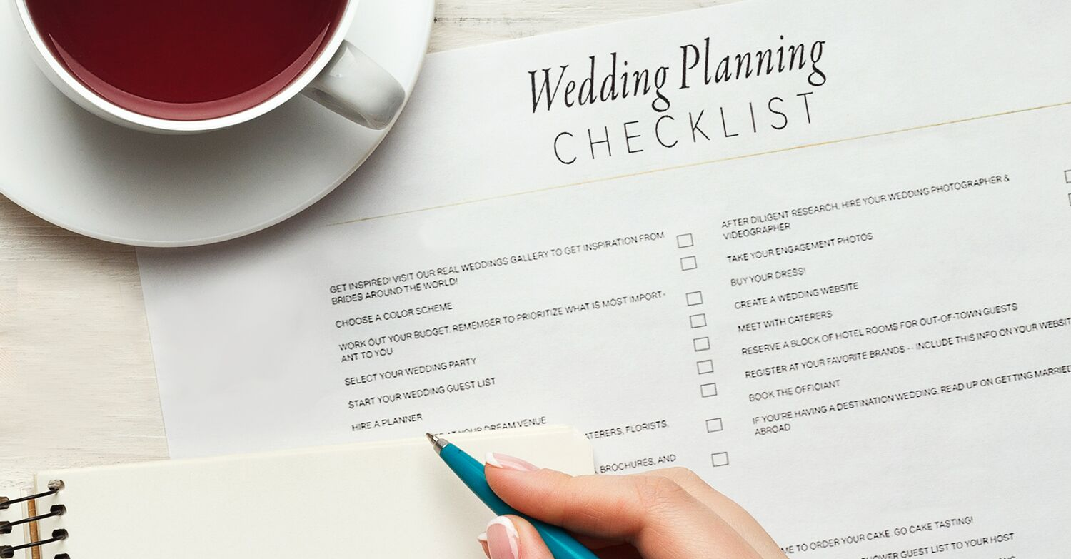 c89b5663e80 The Simple Wedding Planning Checklist to Just Get It Done