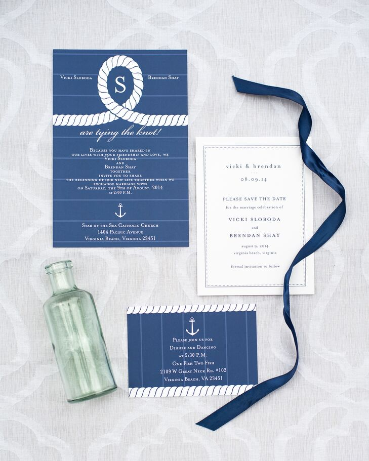 tying the knot invites