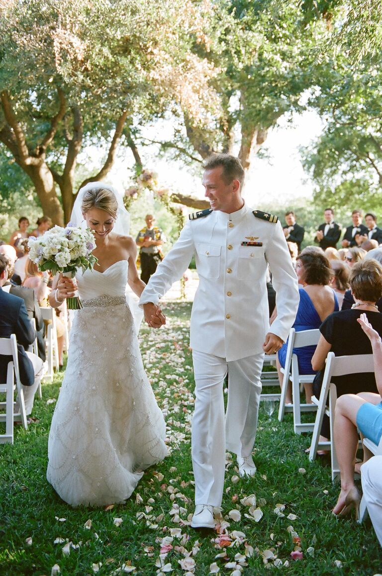 Tips for planning a military wedding for Free wedding dresses for military brides