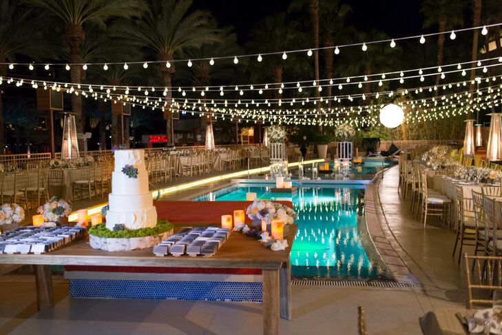 A Glamorous Wedding At Red Rock Hotel And Casino In Las