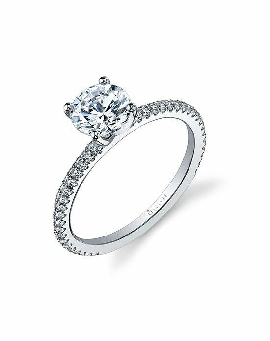 Sylvie Collection SY131 Engagement Ring photo