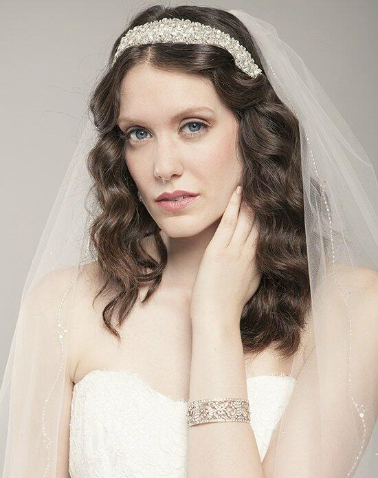 Laura Jayne Brescia Glam Hair Ribbon Wedding Headbands photo