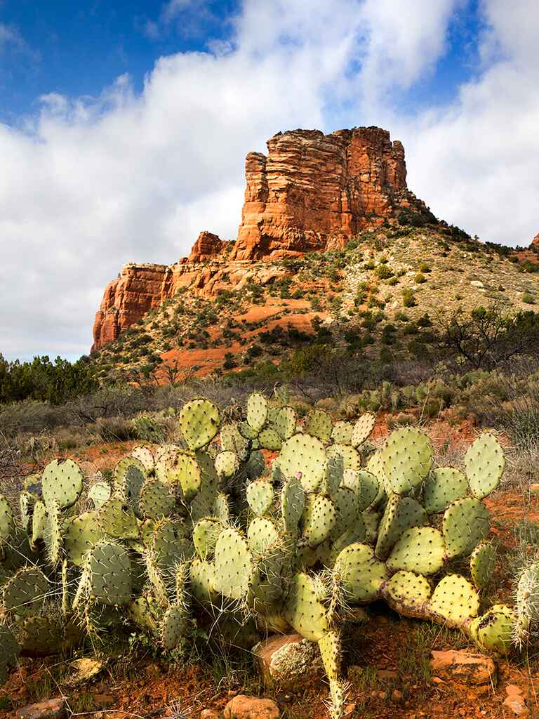 Sedona mini-moon honeymoon destination idea