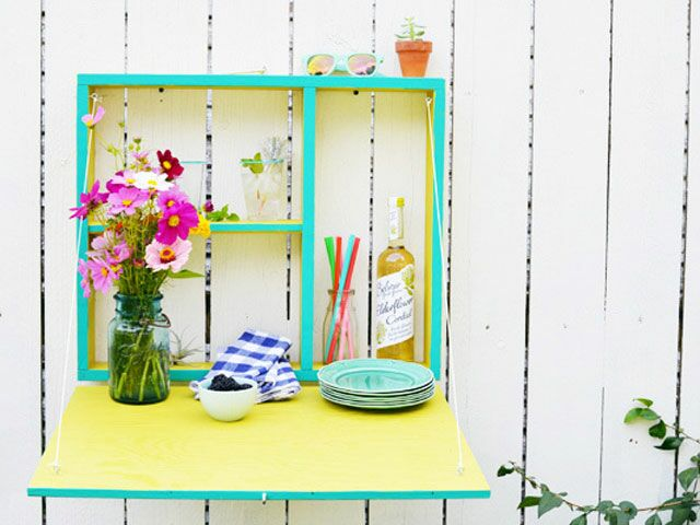 Celebrate Summer Nights With This DIY Fold Out Bar
