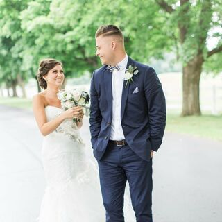 A Preppy Vintage Wedding in Grand Rapids