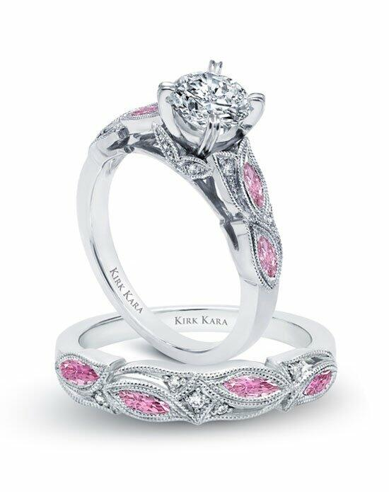 Kirk Kara Dahlia Collection K155PDR & K155PD-B Engagement Ring photo