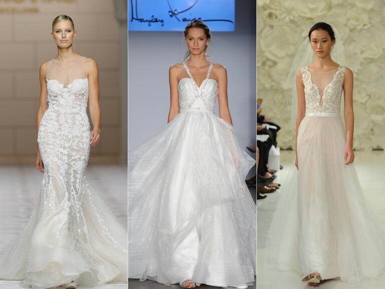Wedding dresses from last bridal fashion week you can shop for Last season wedding dresses