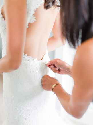 What to shop for after you've found a wedding dress