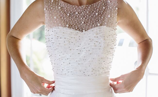 5 reasons why I'm wearing my sister's wedding dress: VUE Photography / TheKnot.com