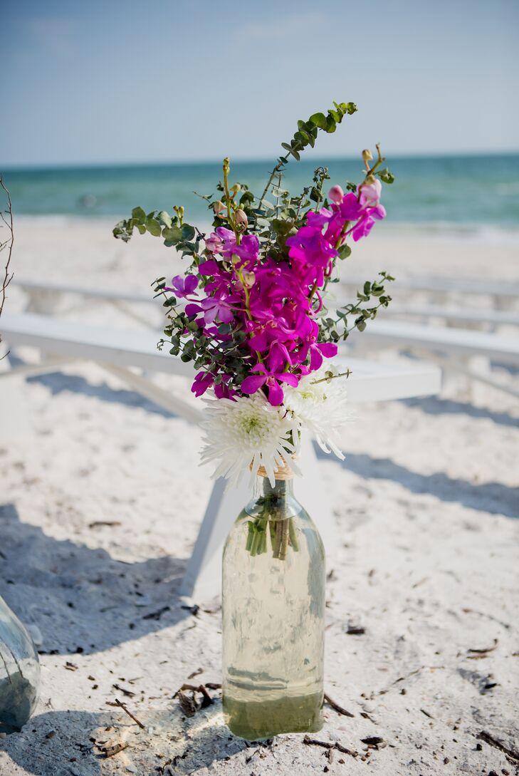 A Casual Beach Wedding At Bonita Bay Club In Bonita Springs Florida