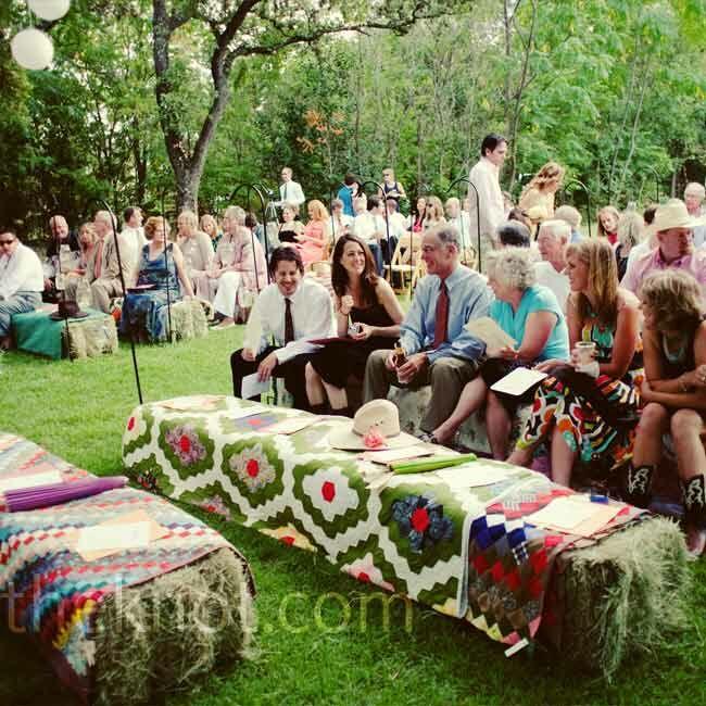 Outdoor Country Wedding Ideas: Outdoor Wedding Ceremony