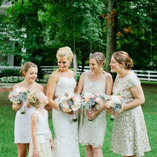 A Romantic Rustic Chic Wedding in Nashville