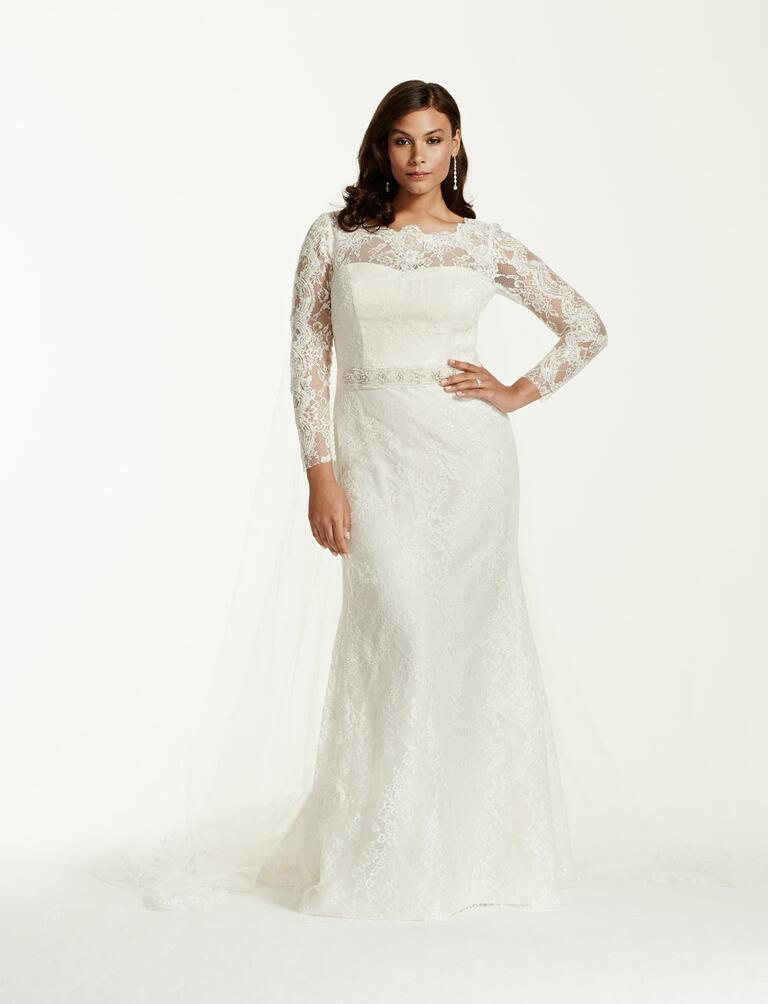 20 Gorgeous Plus Size Wedding Dresses