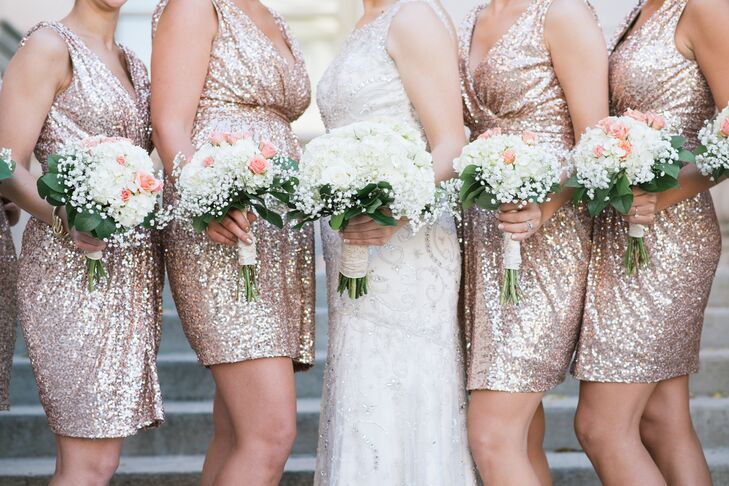 Sequin Bridesmaid Dresses from Rent the Runway