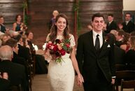 Elizabeth (Betsy) Stepanek (27 and an oncology nurse) and Anthony (Tony) Davenport's (25 and a sailor) winter wedding exuded a cozy vibe, thanks to wa