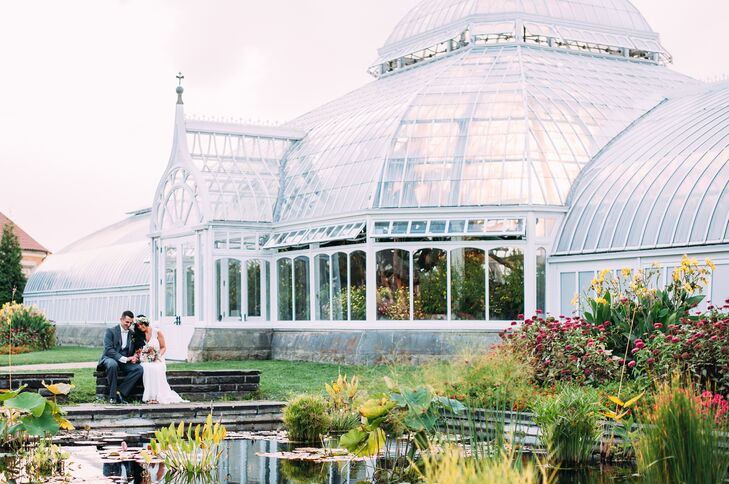 An Elegant Garden Wedding At Phipps Conservatory And Botanical Gardens In Pittsburgh Pennsylvania