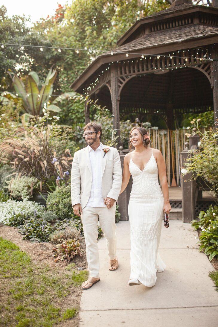 A Rustic Wedding At San Diego Botanical Gardens In Encinitas California