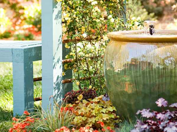 Update your outdoor space with these fifteen great ideas, just in time for spring and summer.