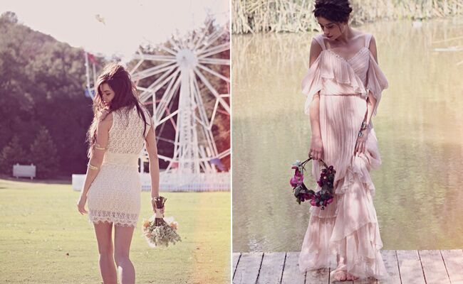 Free People Wedding Dresses | The Knot Blog