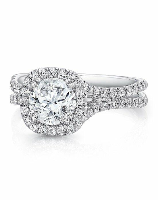 Uneek Fine Jewelry LVS898-6.5RD Engagement Ring photo
