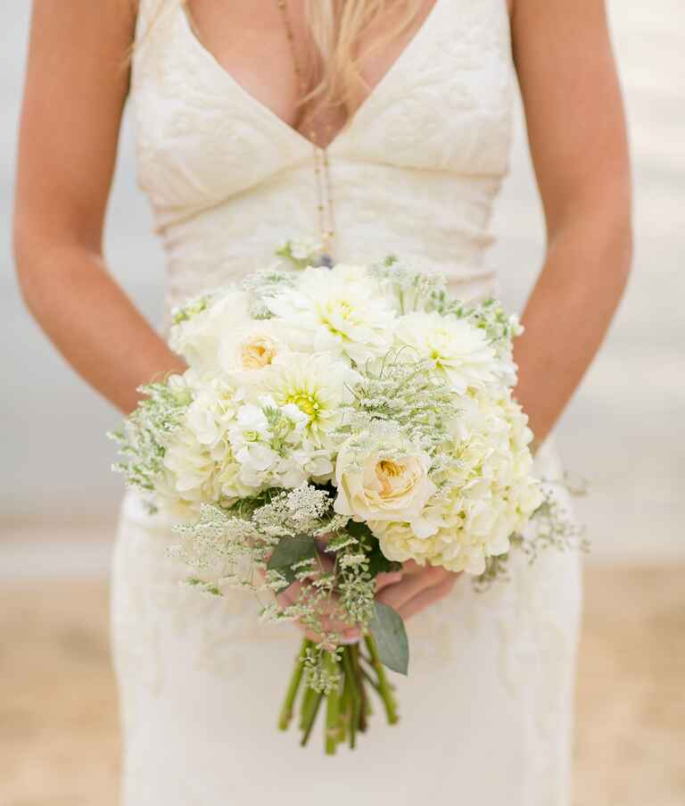 flowers wedding centerpieces rustic seaside wedding inspiration from the outer banks 4293