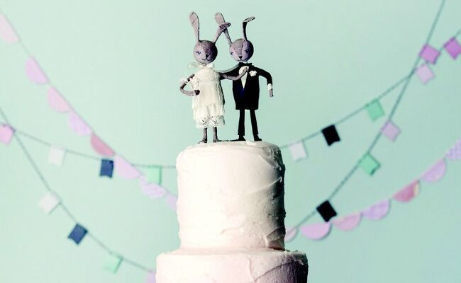 Bunny wedding inspiration: Magnolia Bakery / TheKnot.com
