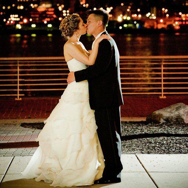 An Aquatic Wedding In Camden, NJ