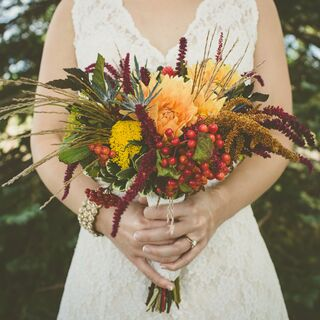 A Vibrant Vintage Wedding in Madison