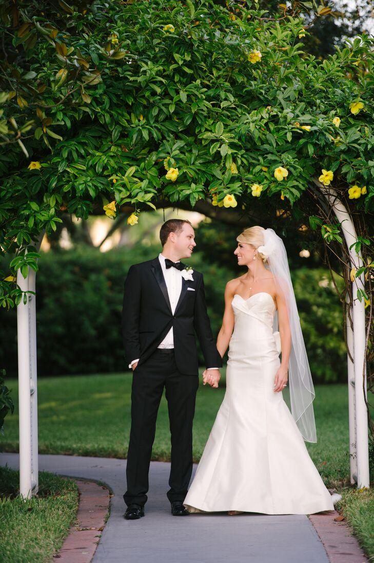 A Timeless Garden Wedding At Davis Islands Garden Club In Tampa Florida