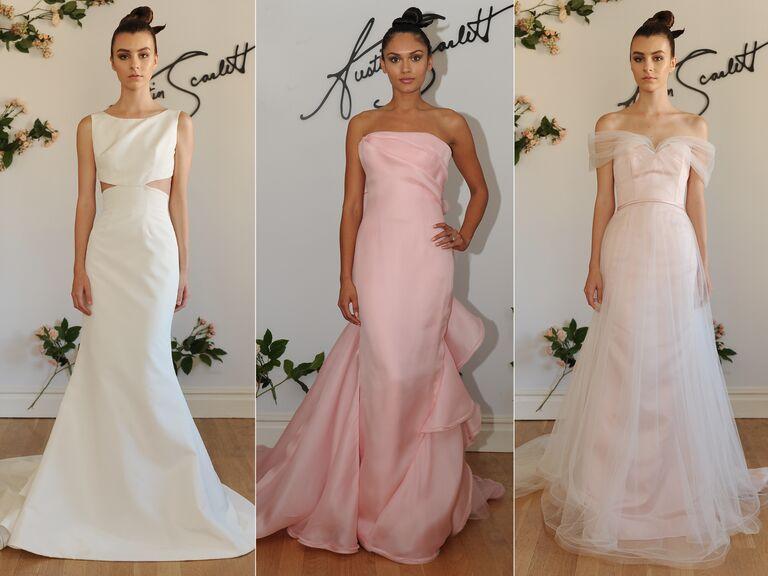Austin Scarlett Fall 2016 Bridal Fashion Week Wedding Dress Collection