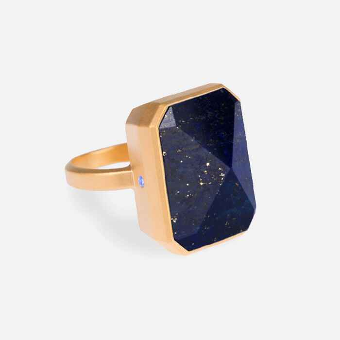 Ringly Out to Sea blue notification ring