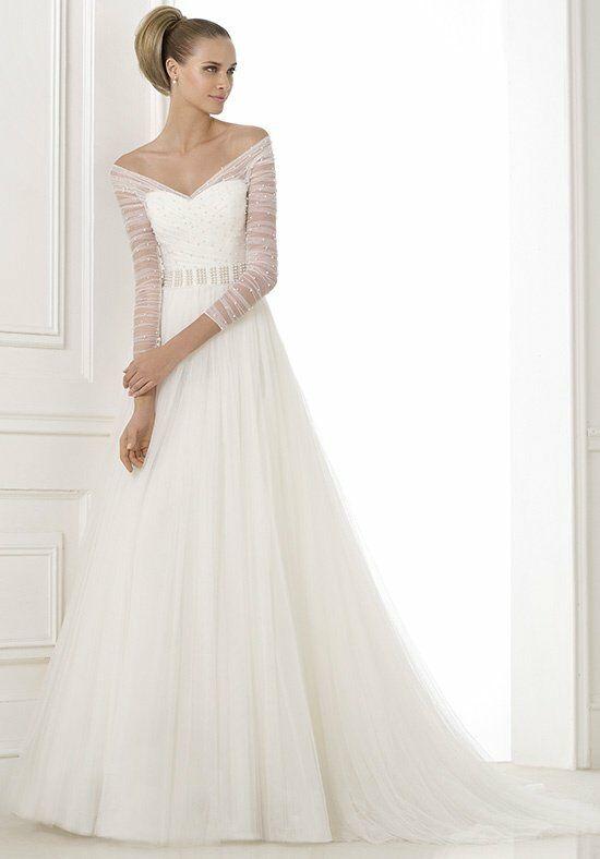 PRONOVIAS PRINCIA Wedding Dress - The Knot