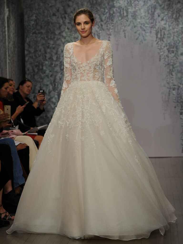 Monique Lhuillier Fall 2016 Collection Wedding Dress Photos