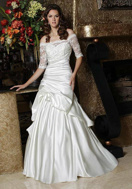 DaVinci Bridal 50185 Wedding Dress photo