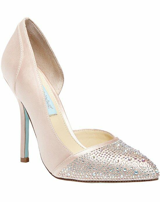 Blue by Betsey Johnson SB-Band- Champagne Wedding Shoes photo