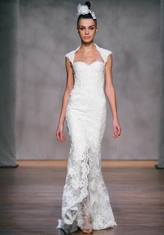 Monique Lhuillier Amaranth Wedding Dress photo